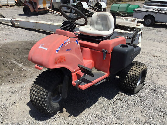2008 Smith 8440 Utility Cart No key, no batteries, running conditions unknown, bad tires