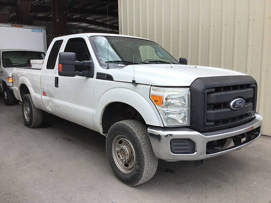 2012 Ford F250 4x4 Extended-Cab Pickup Truck Runs and drives