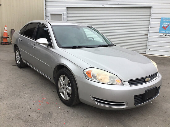 2007 Chevrolet Impala 4-Door Sedan Runs and drives