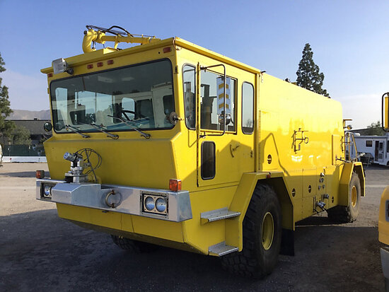 1980 Oshkosh T1500 Fire Truck Subject to ARB regulations, Off road only, MSO only, no out of state b