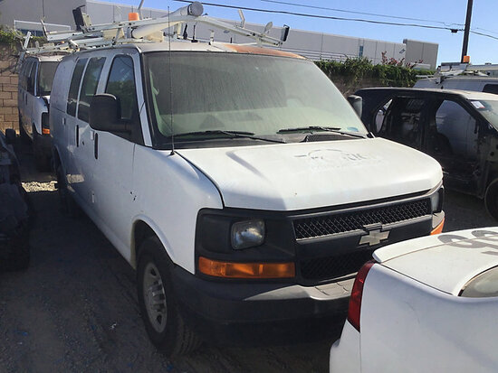 2007 Chevrolet G2500 Cargo Van non runner, will not start, paint damage
