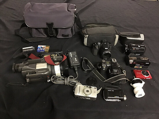 Cameras and camcorders (Used) NOTE: This unit is being sold AS IS/WHERE IS via Timed Auction and is