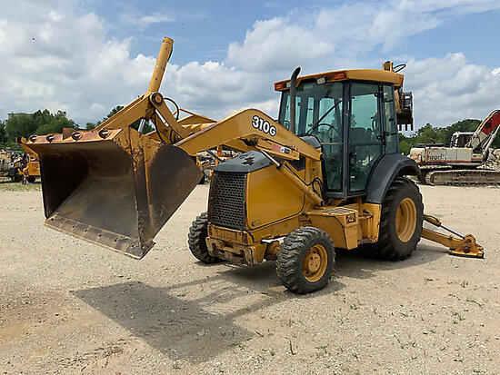 (Wright City, MO) 2005 John Deere 310G 4X4 Tractor Loader Backhoe runs and operates