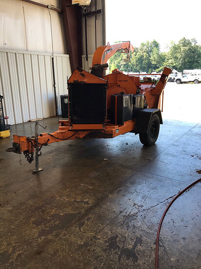 "(Conway, AR) 2011 Altec Environmental Products DC1317 Chipper (13"" Disc), trailer mtd No Title, runs"