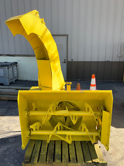 Trackless Vehicles Limited B3 Snow Blower Attachment