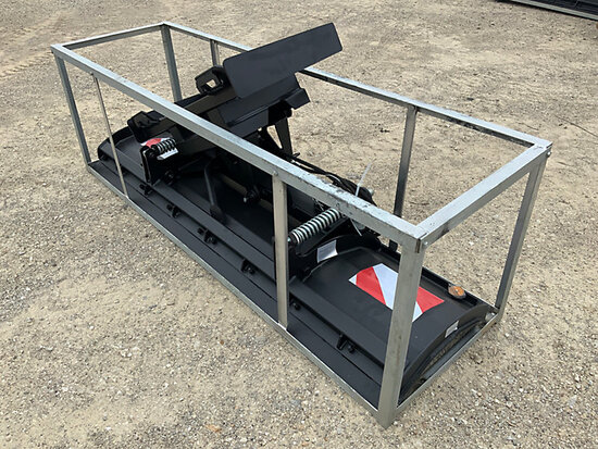 (Wright City, MO) 2020 Great Bear 86 in Skid Steer Hydraulic Snow Plow Attachment (New/Unused) NOTE: