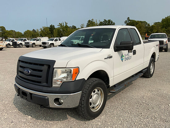 2012 Ford F150 4x4 Extended-Cab Pickup Truck Duke Energy Unit) (Runs & Drives