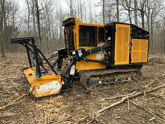 2014 Bandit 3000T Crawler Forestry Mulcher Runs & Operates