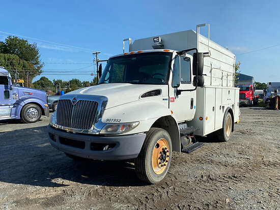 2011 International 4300 Enclosed High-Top Utility Truck Bad Engine, Not Running, Condition Unknown