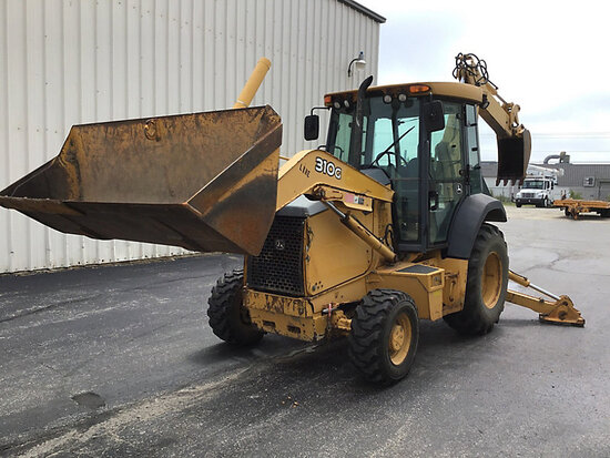 2006 John Deere 310G 4X4 Tractor Loader Backhoe Unit will run, drive, and operate