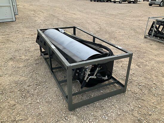 2020 Great Bear 72 in. Hydraulic Vibratory Roller Skid Steer Attachment s/n YL2070006