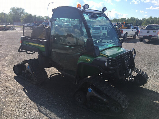 2012 John Deere Gator XUV 825i 4x4 Crawler All Terrain Vehicle Runs & Operates) (No Title