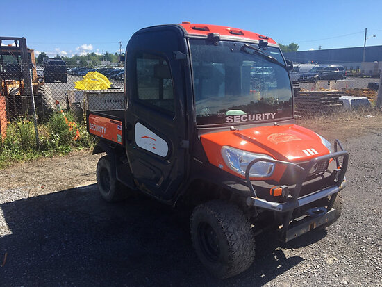 2014 Kubota RTVX-1100C 4x4 Yard Cart Runs & Operates) (No Title