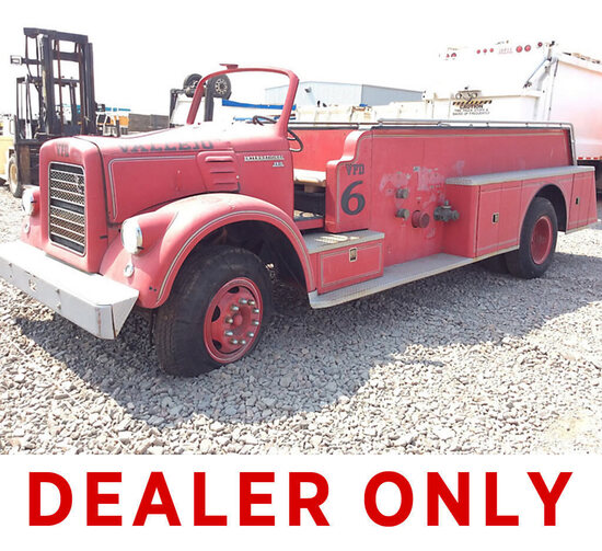 Fire Engine Play Structure DEALER OR OUT OF STATE BUYER ONLY) (Not Running, Condition Unknown) (Part