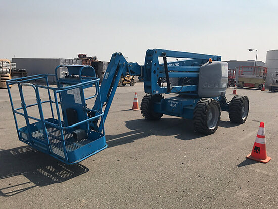 2007 Genie Z45/25J 4x4 Self-Propelled Articulating & Telescopic Manlift Runs & Operates