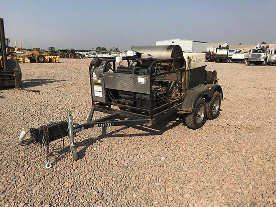 2016 Unknown HZ535DKS Portable Steam Cleaner/Pressure Washer, trailer mtd No Title
