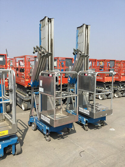 2014 Genie AWP-36S Vertical Mast Manlift