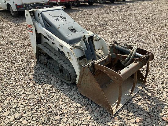2013 Bobcat MT52 Walk-Behind Crawler Skid Steer Loader Runs & Operates