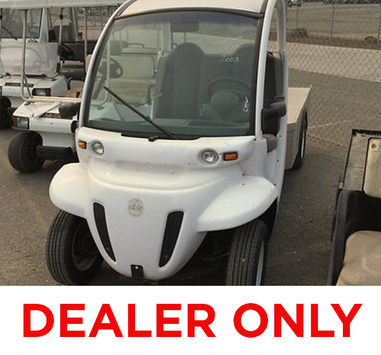 2002 GEM E825 Yard Cart Dealer Only - Recall Incomplete - Remedy Not available. electrical issues, n