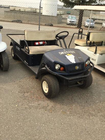 2012 Cushman Shuttle 2 Yard Cart Runs & Drives