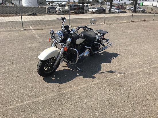 2007 Harley-Davidson Road King - FLHPI Police Package Motorcycle Runs & Drives