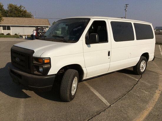 2008 Ford E150 Passenger Van Runs & Drives