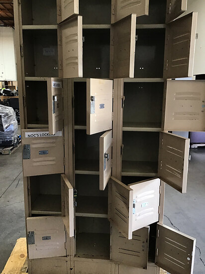 1 Lockers (Used ) NOTE: This unit is being sold AS IS/WHERE IS via Timed Auction and is located in E