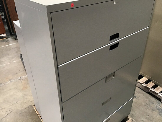 2 file cabinets (Used) NOTE: This unit is being sold AS IS/WHERE IS via Timed Auction and is located
