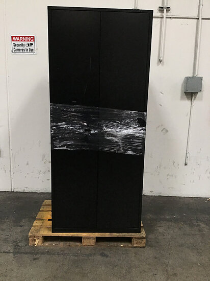 1 large metal cabinet (Used ) NOTE: This unit is being sold AS IS/WHERE IS via Timed Auction and is