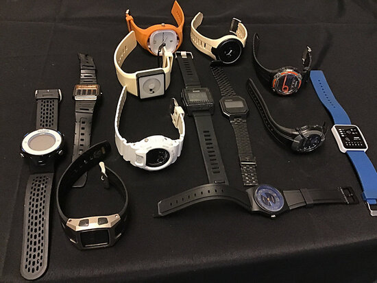 13 watches (Used) NOTE: This unit is being sold AS IS/WHERE IS via Timed Auction and is located in E