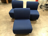 3 lobby sofas (Used) NOTE: This unit is being sold AS IS/WHERE IS via Timed Auction and is located i