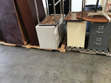 Assorted office furniture (Used) NOTE: This unit is being sold AS IS/WHERE IS via Timed Auction and