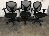 3 office chairs (Used ) NOTE: This unit is being sold AS IS/WHERE IS via Timed Auction and is locate