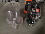 Coffee maker | plastic water gallon (Used ) NOTE: This unit is being sold AS IS/WHERE IS via Timed A