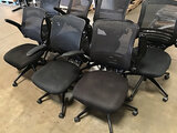 7 office chairs (Used) NOTE: This unit is being sold AS IS/WHERE IS via Timed Auction and is located
