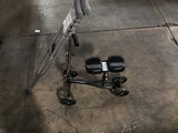 Knee scooter walker | crutches (Used ) NOTE: This unit is being sold AS IS/WHERE IS via Timed Auctio