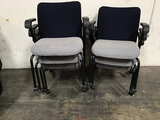 7 lobby chairs (Used ) NOTE: This unit is being sold AS IS/WHERE IS via Timed Auction and is located
