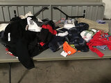 Assorted clothes (Used ) NOTE: This unit is being sold AS IS/WHERE IS via Timed Auction and is locat