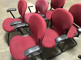 6 lobby chairs (Used) NOTE: This unit is being sold AS IS/WHERE IS via Timed Auction and is located