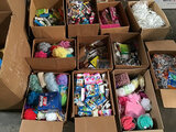 Assorted hygiene products (Used) NOTE: This unit is being sold AS IS/WHERE IS via Timed Auction and