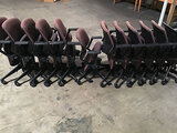 12 office chairs (Used) NOTE: This unit is being sold AS IS/WHERE IS via Timed Auction and is locate