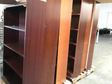 7 bookcases (Used) NOTE: This unit is being sold AS IS/WHERE IS via Timed Auction and is located in