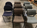 8 lobby chairs (Used) NOTE: This unit is being sold AS IS/WHERE IS via Timed Auction and is located