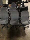 15 assorted office chairs (Used ) NOTE: This unit is being sold AS IS/WHERE IS via Timed Auction and