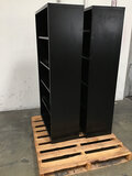 2 metal bookshelf...s (Used ) NOTE: This unit is being sold AS IS/WHERE IS via Timed Auction and is