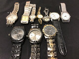 10 assorted watches (Used ) NOTE: This unit is being sold AS IS/WHERE IS via Timed Auction and is lo