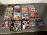 Assorted comics | toys | puzzle | kids water color paints (Used ) NOTE: This unit is being sold AS I