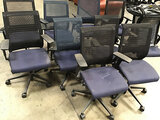 11 office chairs (Used) NOTE: This unit is being sold AS IS/WHERE IS via Timed Auction and is locate