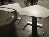 2 adjustable desks (Used) NOTE: This unit is being sold AS IS/WHERE IS via Timed Auction and is loca