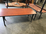 Assorted tables (Used) NOTE: This unit is being sold AS IS/WHERE IS via Timed Auction and is located